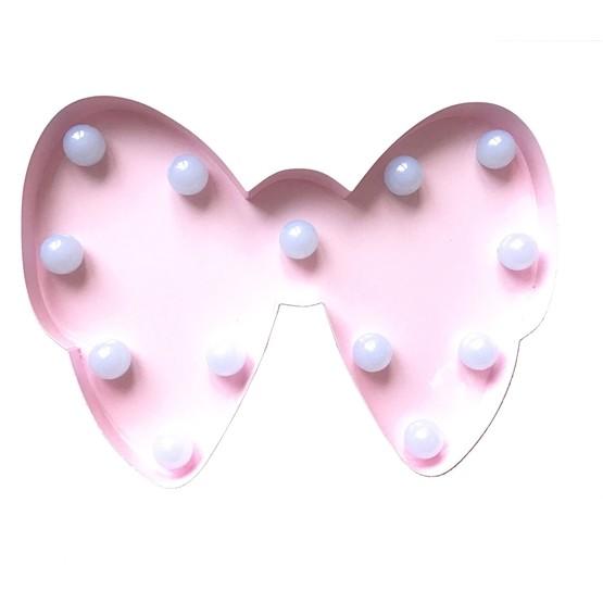 Marquee Light, LED-light Rosett Rosa