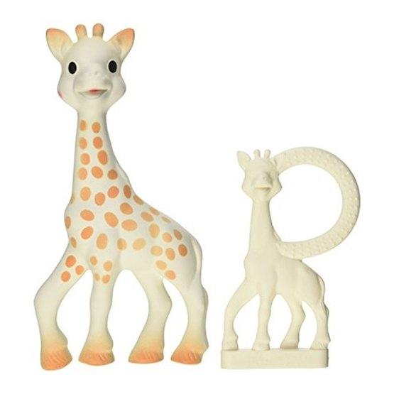 Sophie the giraffe, Sophie Mjuk Giraff + Bitring Presentset