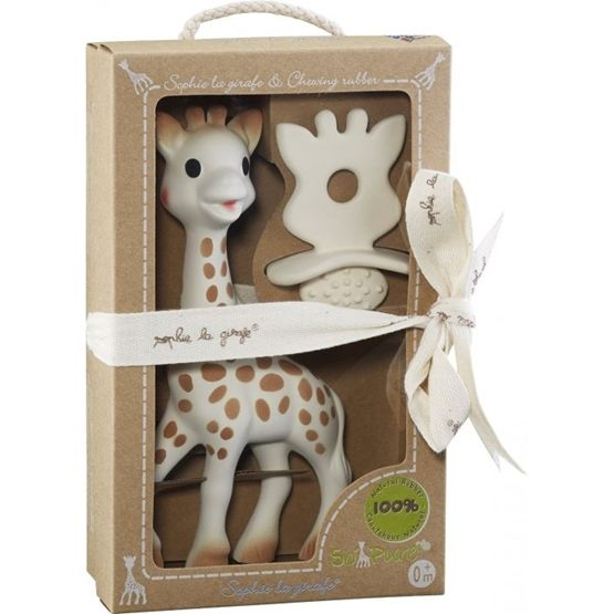 Sophie the giraffe, Sophie So'Pure Mjuk giraff + Bitleksak
