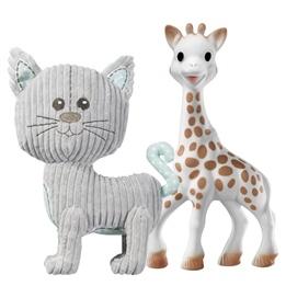 Sophie the giraffe, Sophie Mjuk Giraff + Katten Lazare Gosedjur