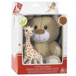Sophie the giraffe, Sophie Mjuk Giraff + Teddybjörn Gabin