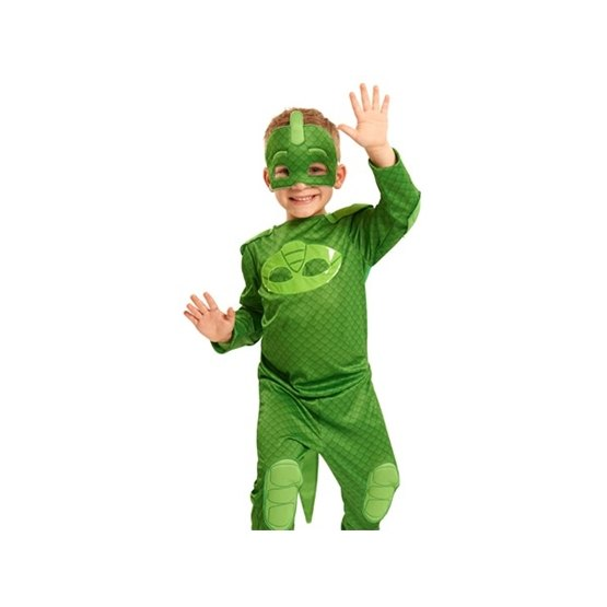 Pyjamashjältarna, Utklädnadsset 4-6 år - Gecko