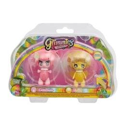 Glimmies, Rainbow Friends 2-pack - Castorinda & Abella