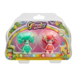 Glimmies, Rainbow Friends 2-pack - Shelisa & Spiria