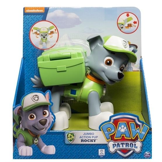 Paw Patrol, Jumbo Action Pup - Rocky