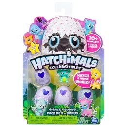 Hatchimals, Mini Colleggtibles 4-pack + bonus