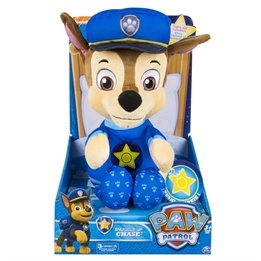 Paw Patrol, Snuggle Up - Chase 30 cm