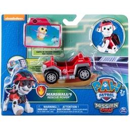 Paw Patrol, Mini Fordon - Marshall's Rescue Rover