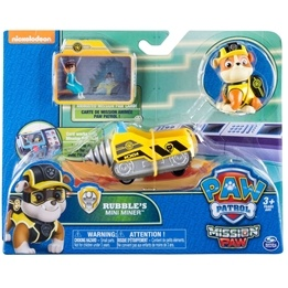 Paw Patrol, Mini Fordon - Rubble' Mini Miner