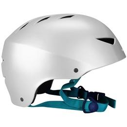 SportMe, Skatehjälm Aggresive Silver 54-58 cm