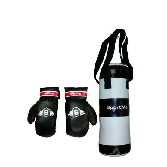 SportMe, Boxningssäck med handskar 3 kg