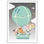 Studio Circus, Affisch Luftballong 50x70 cm