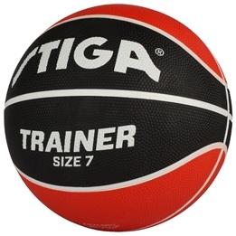 STIGA, Basketboll, Trainer, storlek 7, Röd