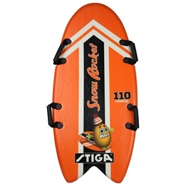 STIGA, SnowRocket Twintail Orange, 110 cm