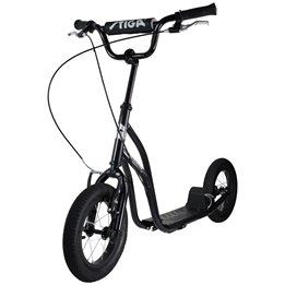 "STIGA, Sparkcykel Air Scooter 12"", svart"