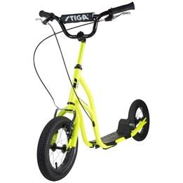 "STIGA, Sparkcykel Air Scooter 12"", grön"