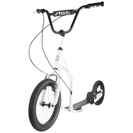 "STIGA, Sparkcykel Air Scooter 16"", vit"