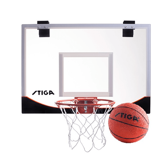 STIGA, Basketkorg med Boll, Mini Hoop 23