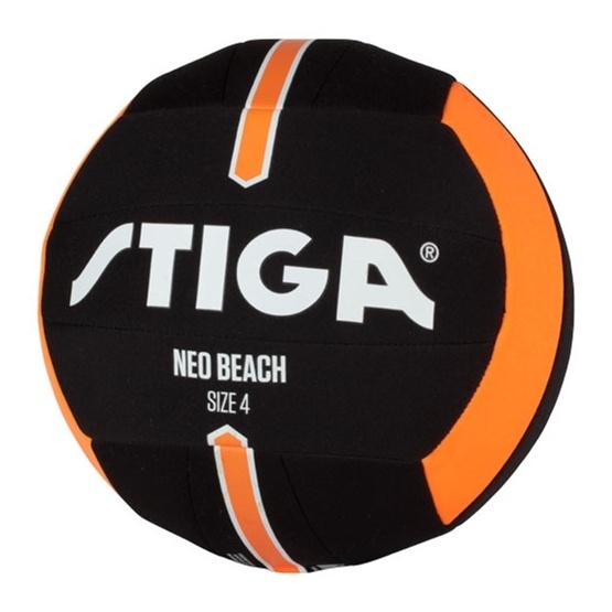 STIGA, Fotboll, NEO Beach storlek 4, Svart