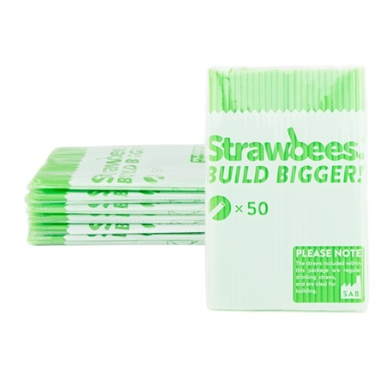 Strawbees, Strån 50-pack Grön
