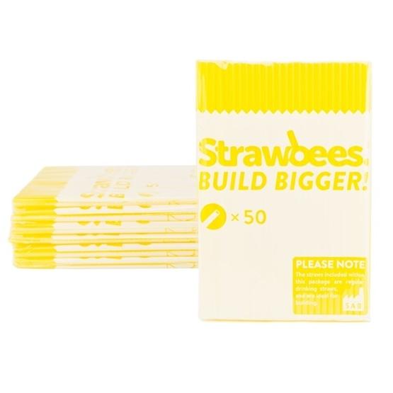 Strawbees, Strån 50-pack Gul