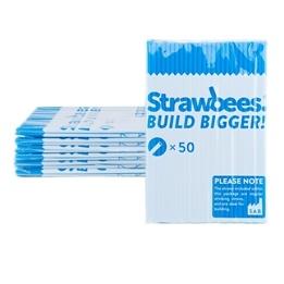 Strawbees, Strån 50-pack Blå