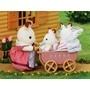 Sylvanian Families, Chokladkanin set med tvillingar