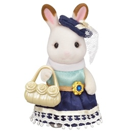 Sylvanian Families, Town - Chocolate Rabbit Girl