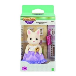Sylvanian Families, Town - Silk Cat Girl