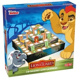 Lion Guard, 3D Snakes & Ladders