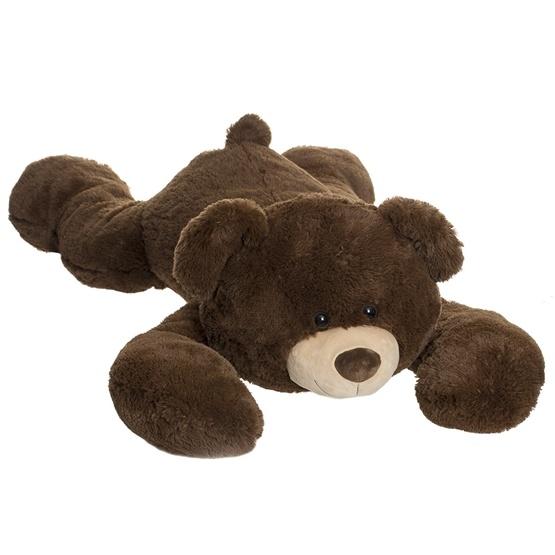 Teddykompaniet, Liggande Nalle Brun 125 cm