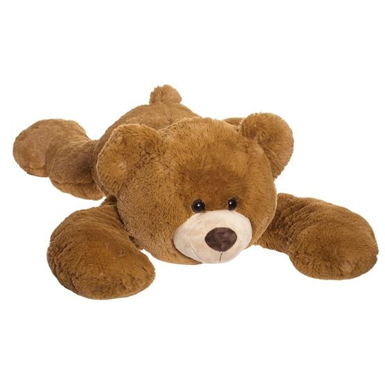 Teddykompaniet, Liggande Nalle Beige 125 cm