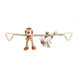 Teddykompaniet, Diinglisar Wild - Vagnhänge Lejon & Elefant