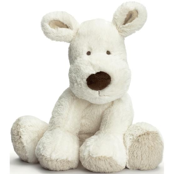 Teddykompaniet, Teddy Cream Hund vit 26 cm