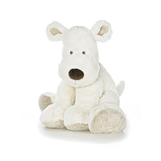 Teddykompaniet, Teddy Cream Hund, XL, vit, 55cm
