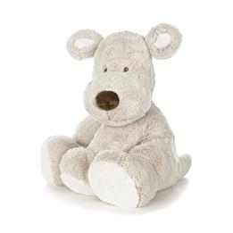Teddykompaniet, Teddy Cream Hund, XL, grå, 55cm