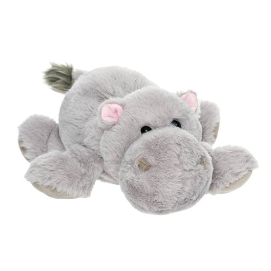 Teddykompaniet, Dreamies - Flodhäst 35 cm