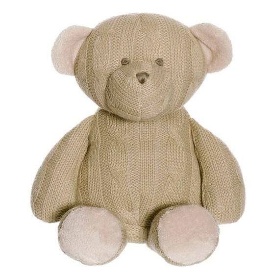 Teddykompaniet, Knitted - Stickad Nalle 30 cm