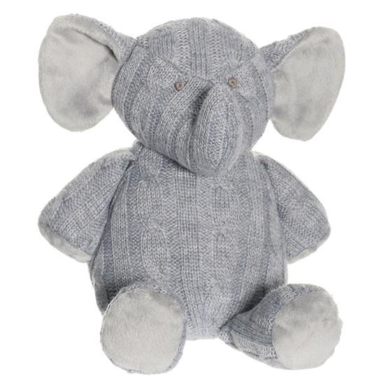 Teddykompaniet, Knitted - Stickad Elefant 30 cm