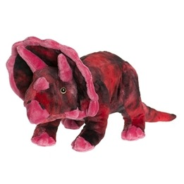 Teddykompaniet, Teddy Dinos Triceratops röd 40 cm