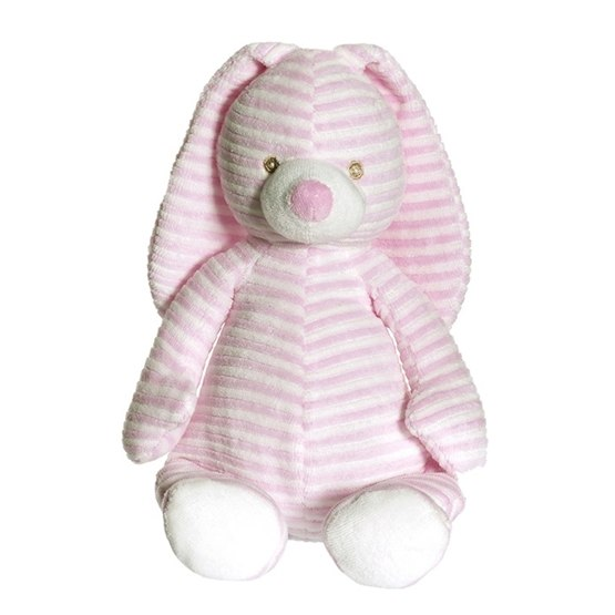 Teddykompaniet, Cotton Cuties - Kanin Mjukis Rosa 27 cm