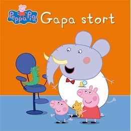 Greta Gris Gapa stort