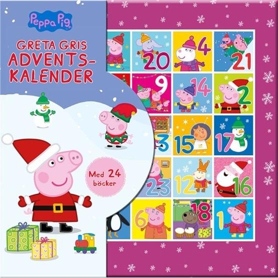 Greta Gris Adventskalender (miniböcker)