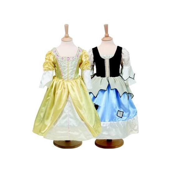 Travis Designs, Reversible 2-in-1 Princess/Pauper 6-8 år