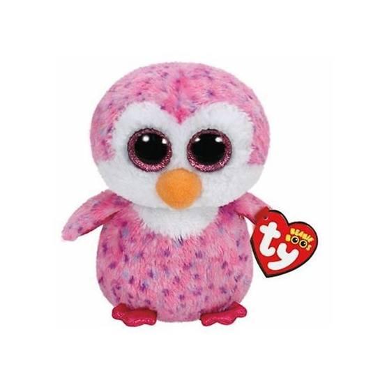 TY, Beanie Boos - Pinky Uggla 15 cm