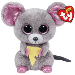 TY, Beanie Boos - Squeaker Mus 15 cm