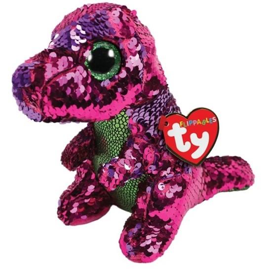 TY, Flippables - Stompy Dinosaur 15 cm