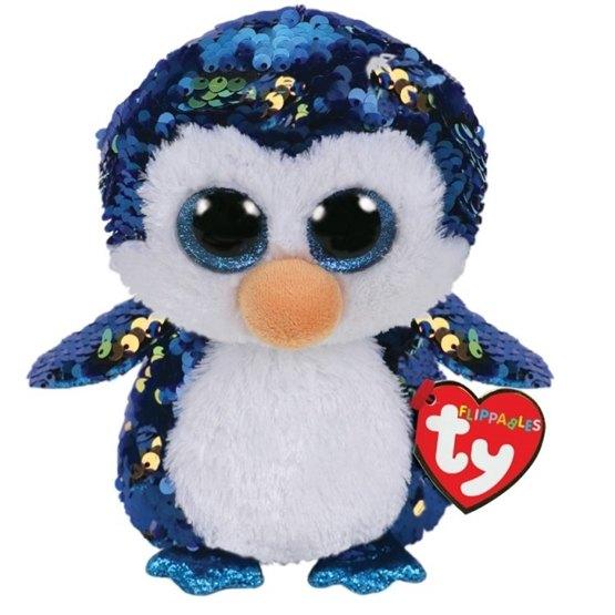 TY, Flippables - Payton Penguin 15 cm