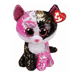 TY, Flippables - Malibu Cat 23 cm