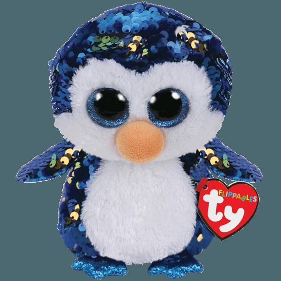 TY, Flippables - Payton Penguin 23 cm